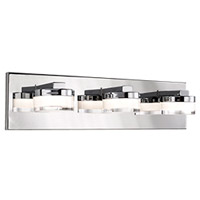 Kuzco Lighting VL3918-CH Berg LED 18 inch Chrome Vanity Light Wall Light