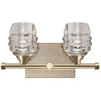 Kuzco Lighting VL52112-VB Signature LED 12 inch Vintage Brass Vanity Light Wall Light