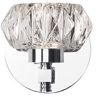 Kuzco Lighting VL54204-CH Basin LED 4 inch Chrome Vanity Light Wall Light