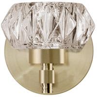 Kuzco Lighting VL54204-VB Signature LED 4 inch Vintage Brass Vanity Light Wall Light
