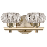 Kuzco Lighting VL54210-VB Signature LED 10 inch Vintage Brass Vanity Light Wall Light