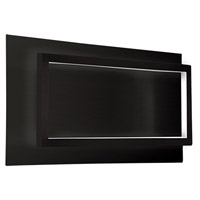 Mondrian LED 16 inch Black Wall Sconce Wall Light