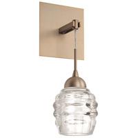 Kuzco Lighting WS52104-VB Signature LED 5 inch Vintage Brass Wall Sconce Wall Light