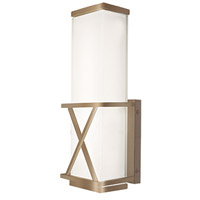 Kuzco Lighting WS7012-VB X-Calibur LED 5 inch Vintage Brass Wall Sconce Wall Light photo thumbnail