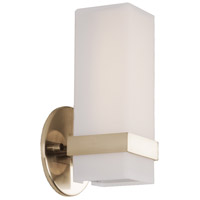 Kuzco Lighting WS8809-VB Bratto LED 5 inch Vintage Brass Wall Sconce Wall Light