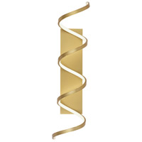 Kuzco Lighting WS93736-AN Synergy 36 inch Antique Brass Sconce Wall Light