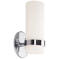 Kuzco Lighting WS9809-CH Milano LED 5 inch Chrome Sconce Wall Light