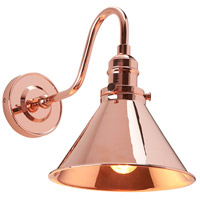 Provence 1 Light 8 inch Polished Copper Wall Sconce Wall Light, Elstead