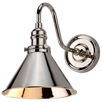Provence 1 Light 8 inch Polished Nickel Wall Sconce Wall Light, Elstead