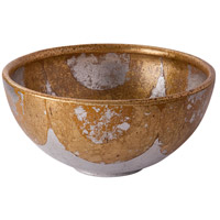 Lucas and McKearn SI-B1209 Belle Chase 15 X 7 inch Decorative Bowl, Flambeau