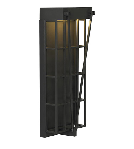 Lbl lighting fugue 1 light outdoor wall in bronze od724bzledw photo