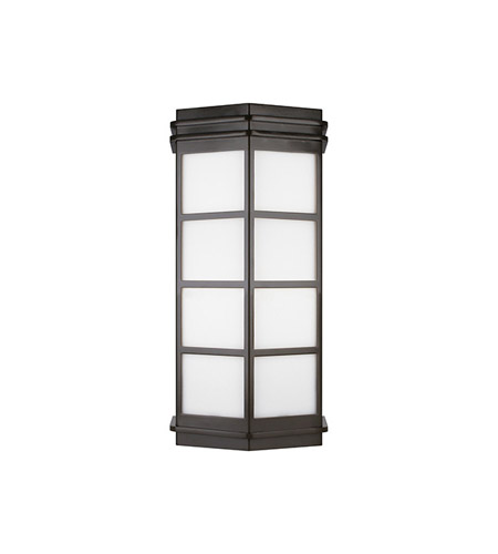 Lbl lighting pw115bz2241hew modular new york 2 light 18 inch bronze outdoor wall in 120v