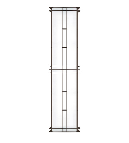 Lbl lighting pw528bz25l2hew modular industrial 2 light 40 inch bronze outdoor wall in 25w fluorescent
