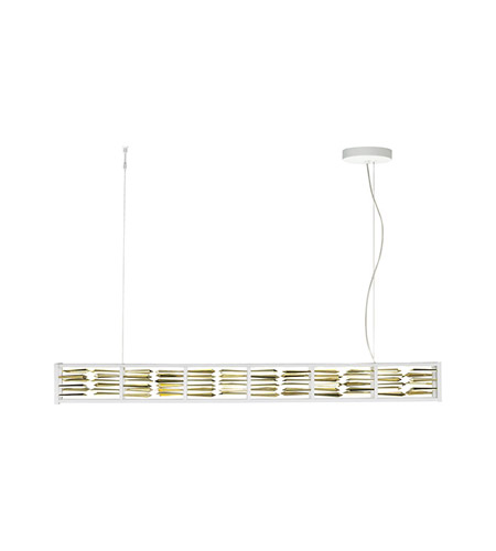 Lbl lighting su755pcwhled scarlett led 4 inch white suspension light ceiling light in chrome