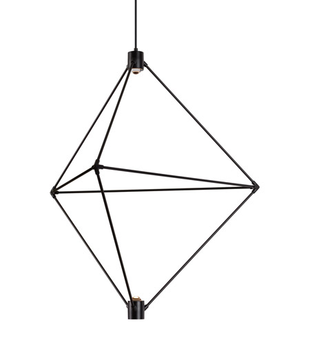 Lbl lighting ch948blledwd candora led 34 inch black chandelier ceiling light