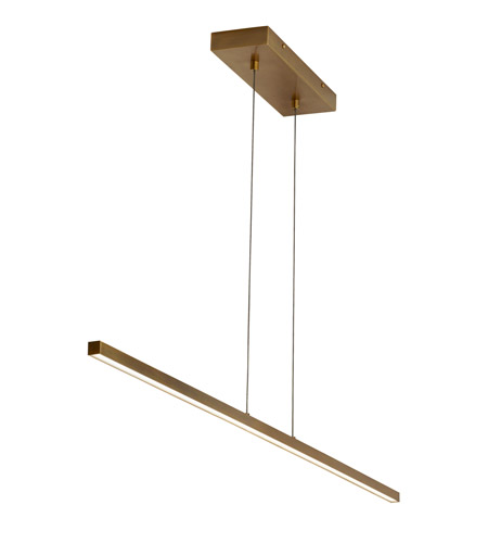 linear suspension lighting. lbl lighting su992abled930 essence led 50 inch aged brass linear suspension ceiling light