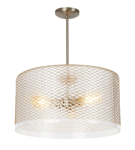 Lbl lighting lp966cr lania 20 inch pendant ceiling light grande