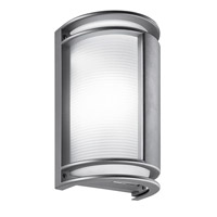 LBL Lighting Nikko Visa 1 Light Outdoor Wall in Gray 1479