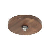LBL Lighting CK001WR-FJ-WABZ-277 Monopoint Hardware 277 Bronze Fusion Jack Canopy Ceiling Light
