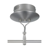 LBL Lighting Monorail Striaght Kit in Satin Nickel FUSIONKITSC8ST