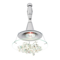 LBL Lighting Vision 1 Light Monorail Chandelier Head in Satin Nickel HA336CRSC1A35MRL