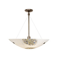 LBL Lighting Veneto Grande 1 Light Suspension Light in Bronze HS318OPBZ2J250