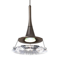 LBL Lighting HS337CRBZ1A35MRL Dimensions 1 Light 4 inch Bronze Low-Voltage Pendant Ceiling Light in Clear (Dimensions) Monorail