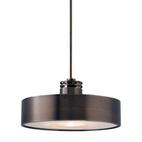 LBL Lighting HS381BZ1A50FSJ Hover 1 Light 6 inch Bronze Low-Voltage Pendant Ceiling Light in Fusion Jack (no canopy)