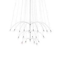 LBL Lighting Twilight 20 Light Chandelier in Satin Nickel HS4420410SC120