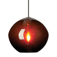 Isla 1 Light 7 inch Bronze Low-Voltage Mini Pendant Ceiling Light in Brown (Isla), Monorail