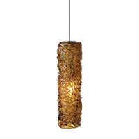 Isis 1 Light 3 inch Bronze Low-Voltage Mini Pendant Ceiling Light in Amber (Isis), 50W, Xenon, Monopoint