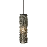 Isis 1 Light 3 inch Bronze Low-Voltage Mini Pendant Ceiling Light in Smoke (Isis), 50W, Xenon, Monopoint