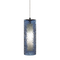 LBL Lighting Rock Candy 1 Light Low-Voltage Mini Pendant in Satin Nickel HS547BUSC1BMPT