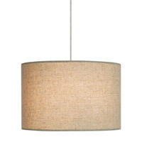 LBL Lighting Fiona 2 Light Low-Voltage Pendant in Satin Nickel HS590LISC1BMR2