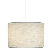 LBL Lighting Fiona 2 Light Low-Voltage Pendant in Satin Nickel HS590PBSC1BMPT