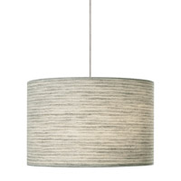 LBL Lighting Fiona 2 Light Low-Voltage Pendant in Satin Nickel HS590PESC1BMR2