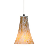 Indulgent 1 Light 4 inch Bronze Low-Voltage Mini Pendant Ceiling Light in Amber (Indulgent), 50W, Xenon, Fusion Jack (no canopy)