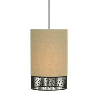 Hollywood Beach 1 Light 6 inch Bronze Low-Voltage Mini Pendant Ceiling Light in Monorail