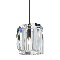 Lexum 1 Light 3 inch Bronze Low-Voltage Pendant Ceiling Light in Fusion Jack (no canopy)