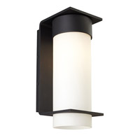Palm Lane 1 Light 15 inch Black Outdoor Wall