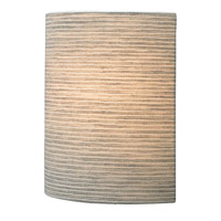LBL Lighting Fiona 1 Light Wall in Pewter JW681PE2D