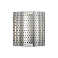 Omni LED 9 inch Silver Outdoor Wall in Wet, Metal Meta, 277V