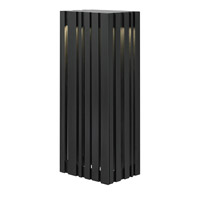 LBL Lighting Uptown 1 Light Outdoor Wall in Black LW641BLLEDW