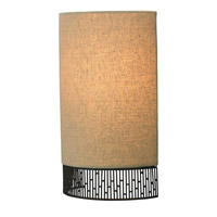 LBL Lighting Hollywood Beach 1 Light Wall in Bronze LW654TNBZLED