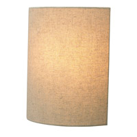 LBL Lighting Fiona 1 Light Wall in Pebble LW681PBLED