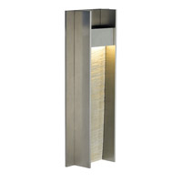 LBL Lighting Tav 1 Light Outdoor Wall in Stone/Gunmetal OD735STGMLEDW