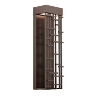 Pier 60 LED 26 inch Bronze Outdoor Wall in 277V