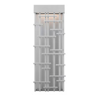 LBL Lighting Pier 60 1 Light Outdoor Wall in Silver OD826SILED277W