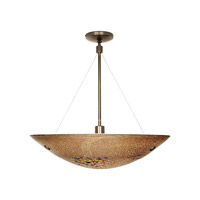 LBL Lighting Veneto Grande 3 Light Suspension Light in Bronze PF318MOBZ326
