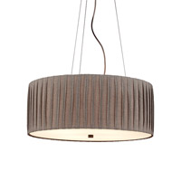 LBL Lighting Cato 4 Light Suspension Light in Bronze PF655GYBZCF